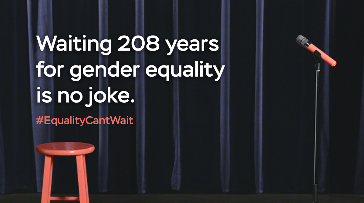 Equality Can't Wait