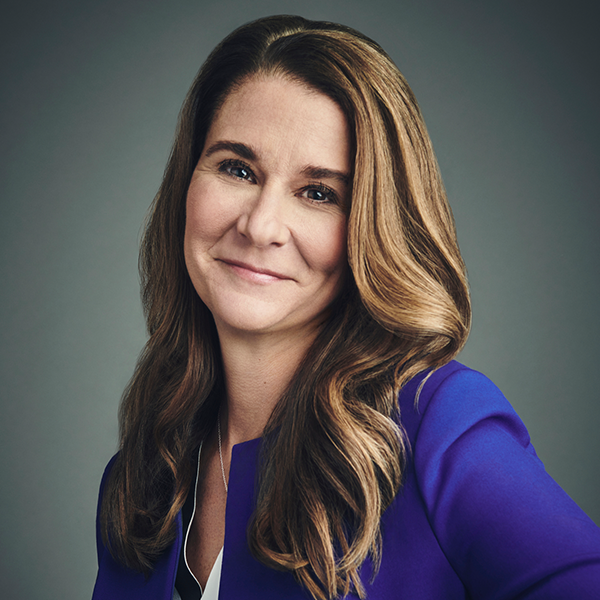 Portrait of Melinda Gates